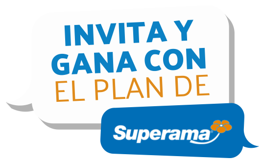 Invita y gana con el plan de Superama
